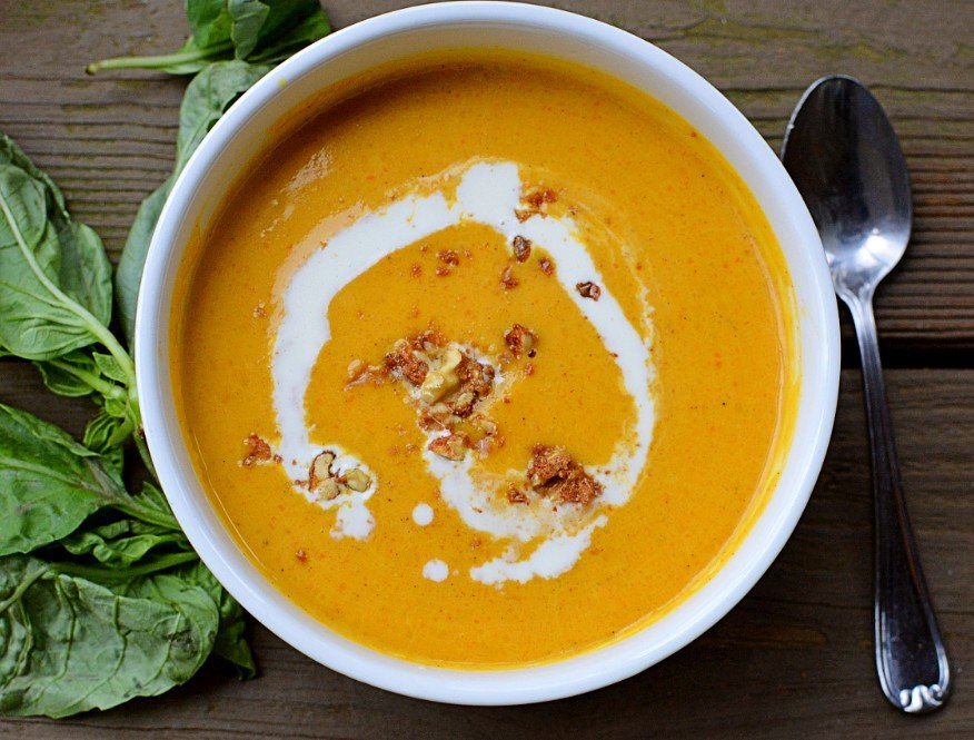 butternut squash ginger soup