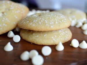 gluten free white chocolate cookies