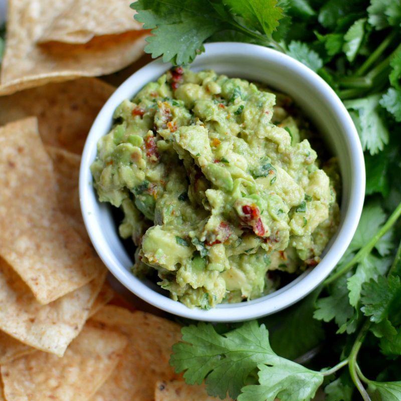 simple guacamole