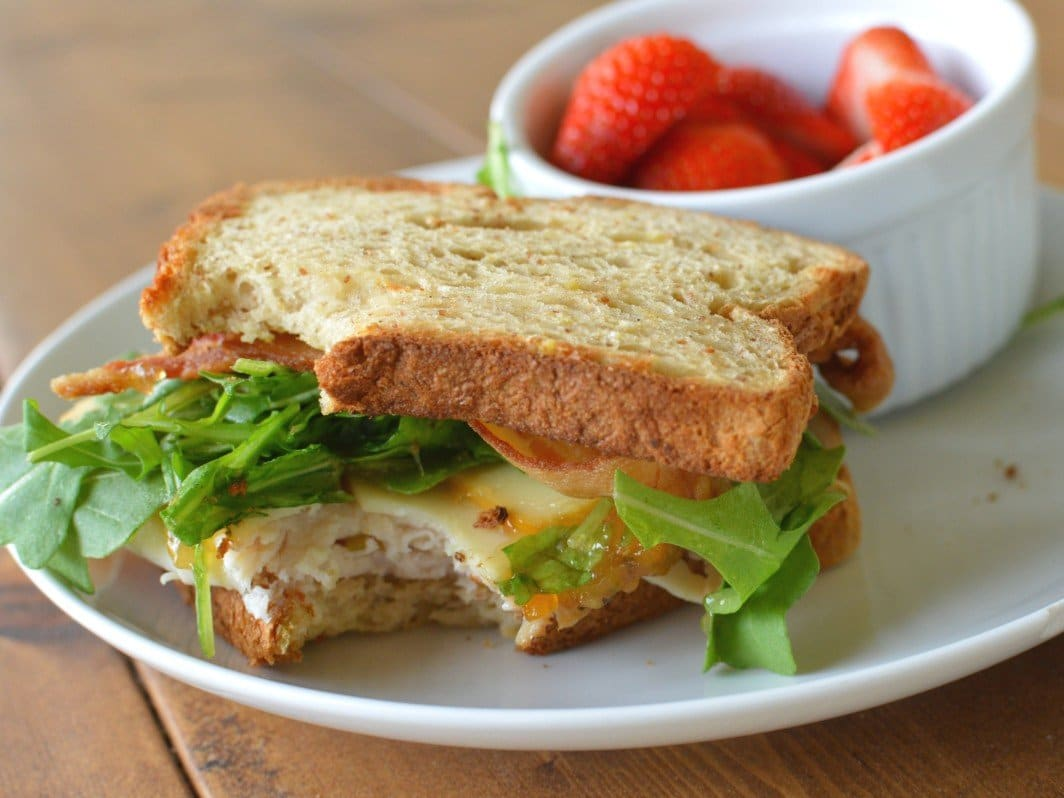 turkey and gruyere sandwich recipe