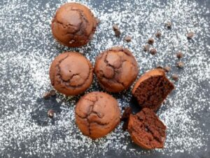 gluten free chocolate muffin