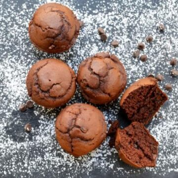 gluten free chocolate muffin