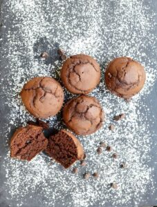gluten free chocolate muffins recipe