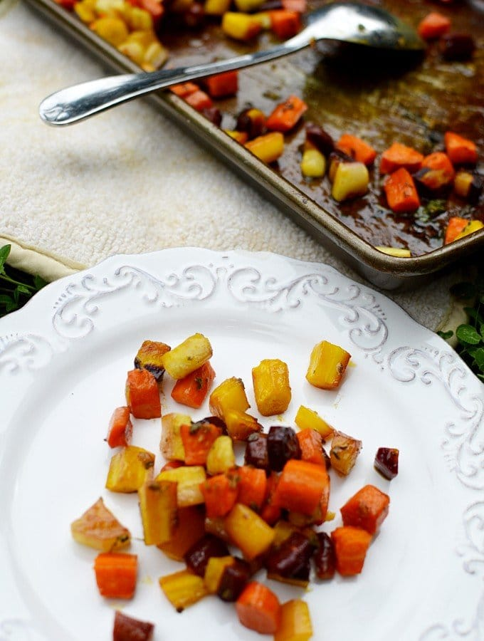 oven roasted carrots