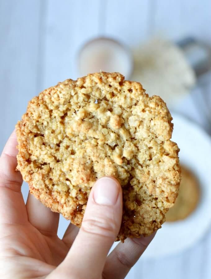 flourless oatmeal cookies
