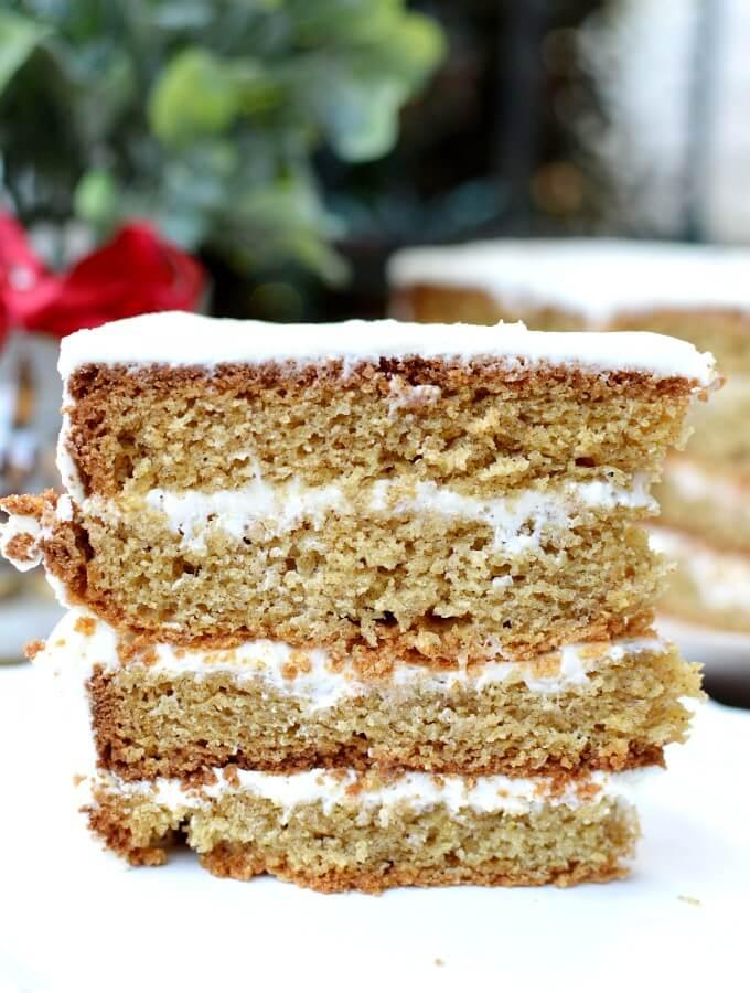 gluten free spice cake