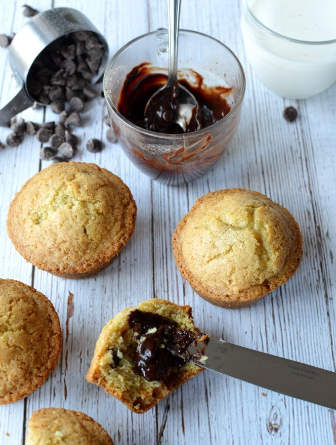 gluten free chocolate chip muffins