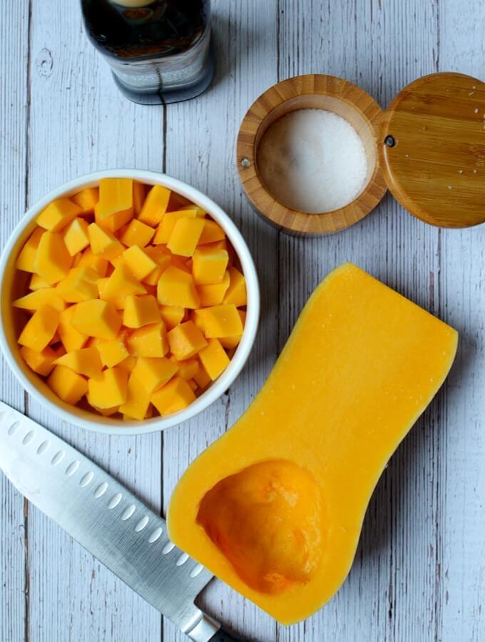 sauteed butternut squash recipe