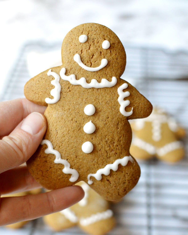 a gluten free gingerbread man