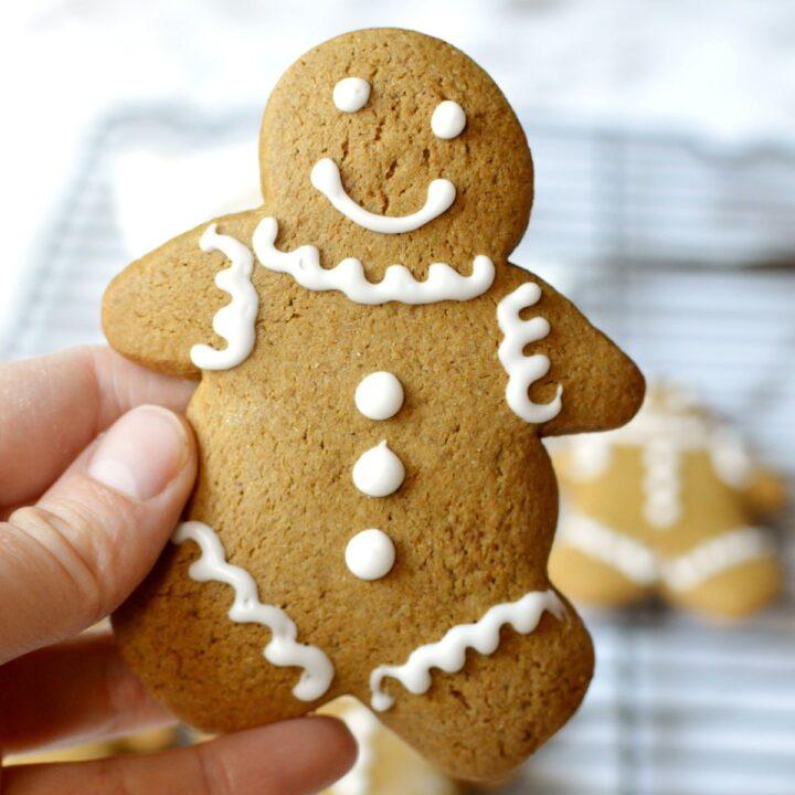 gluten free gingerbread cookie