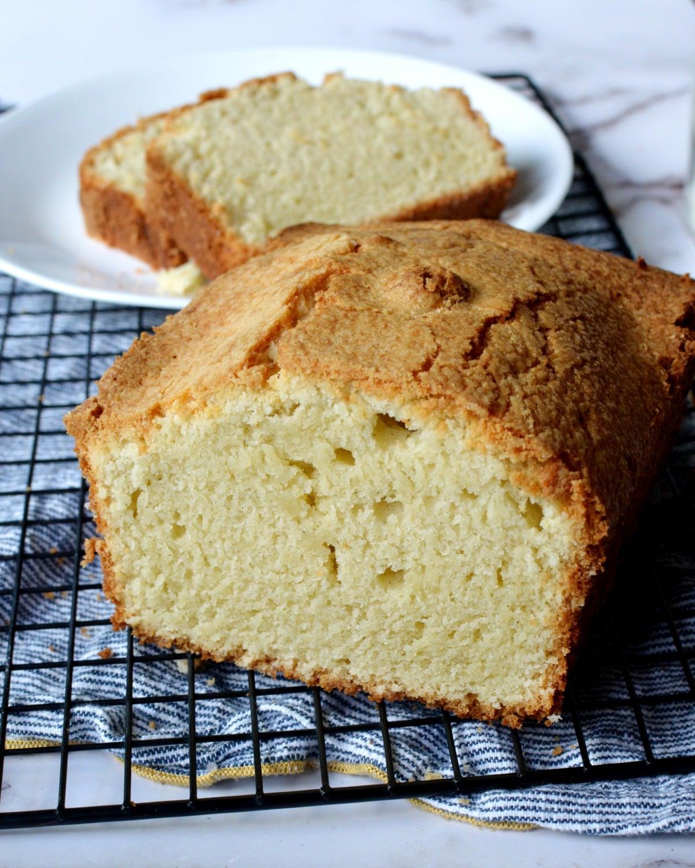 gluten free sour cream pound cake