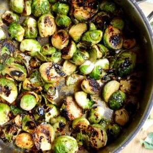 candied brussel sprouts