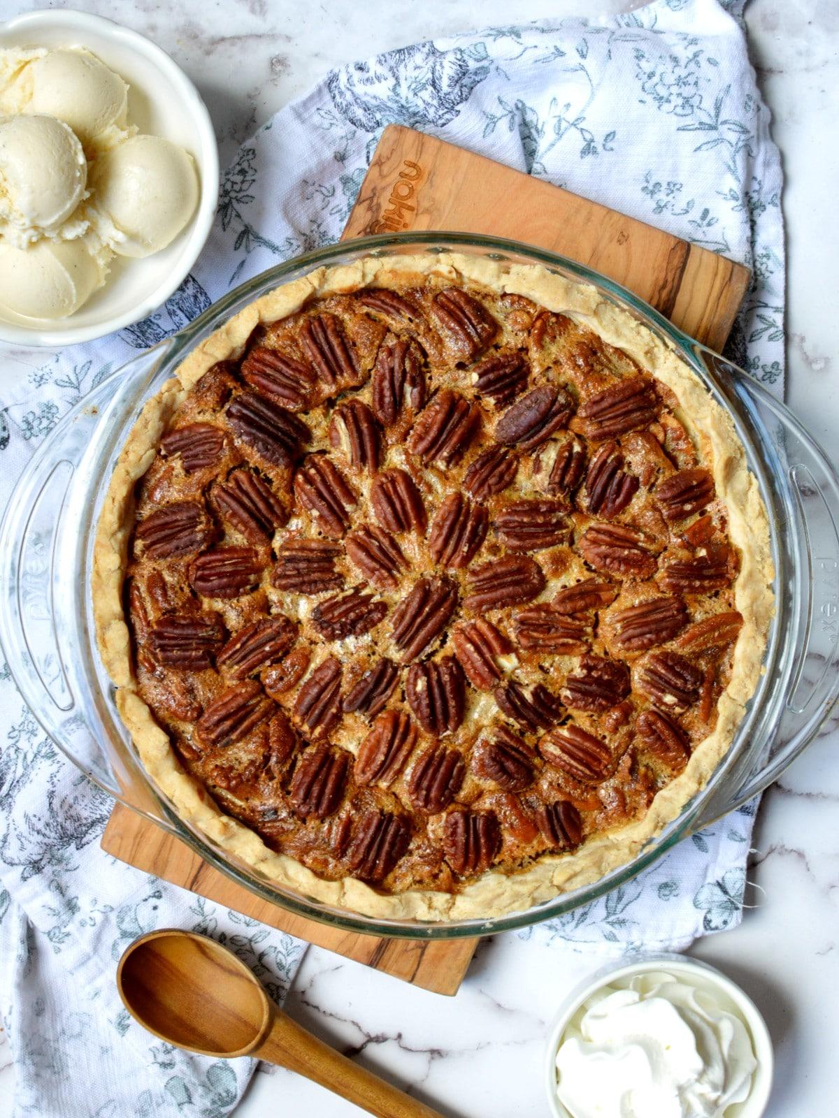 gluten free pecan pie