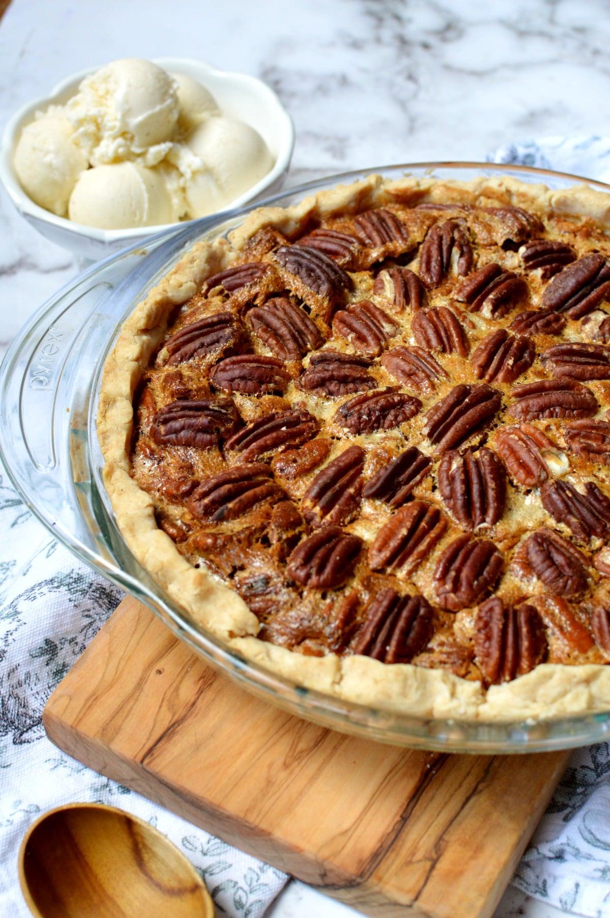 a gluten free pecan pie