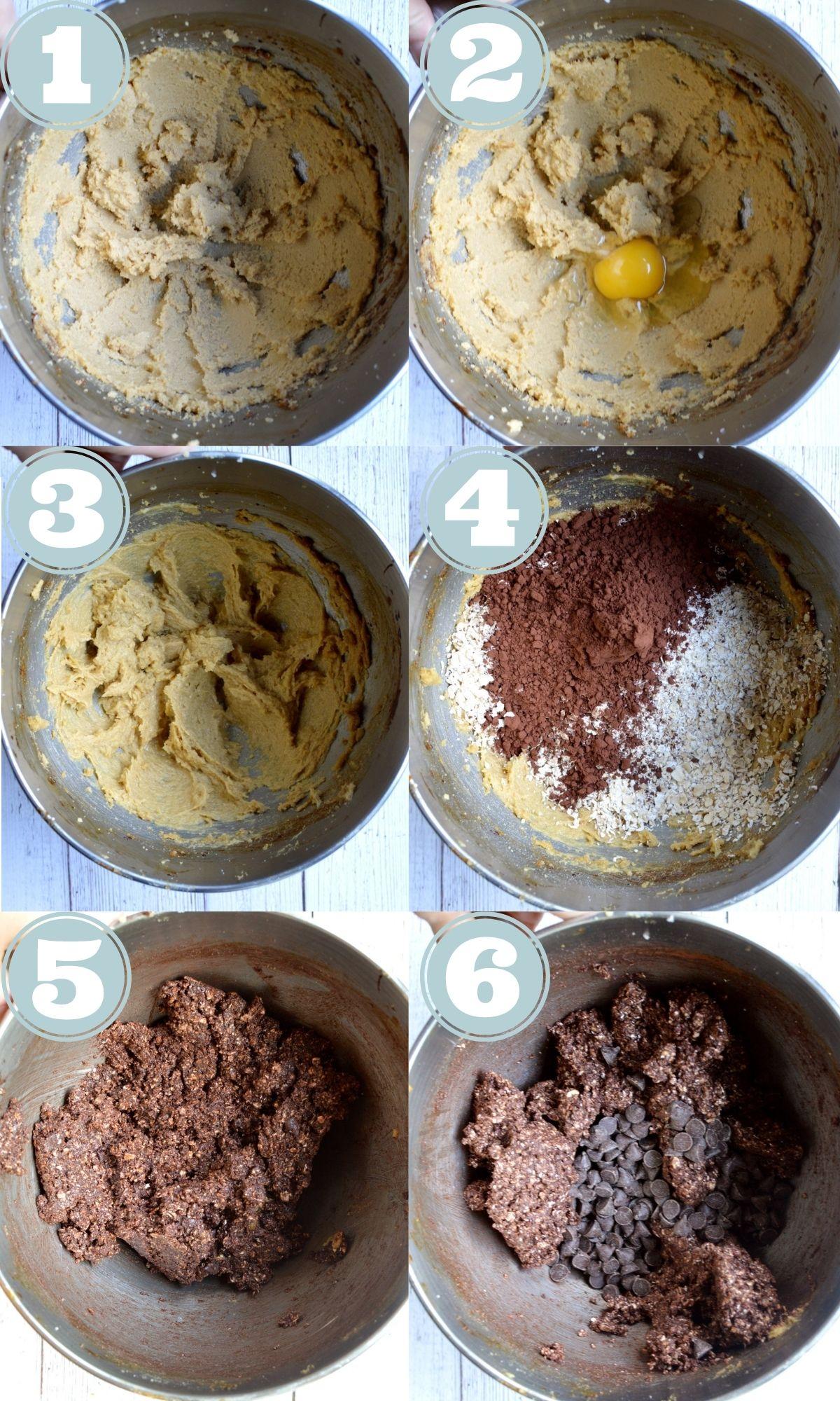 how to make chocolate oatmeal cookies