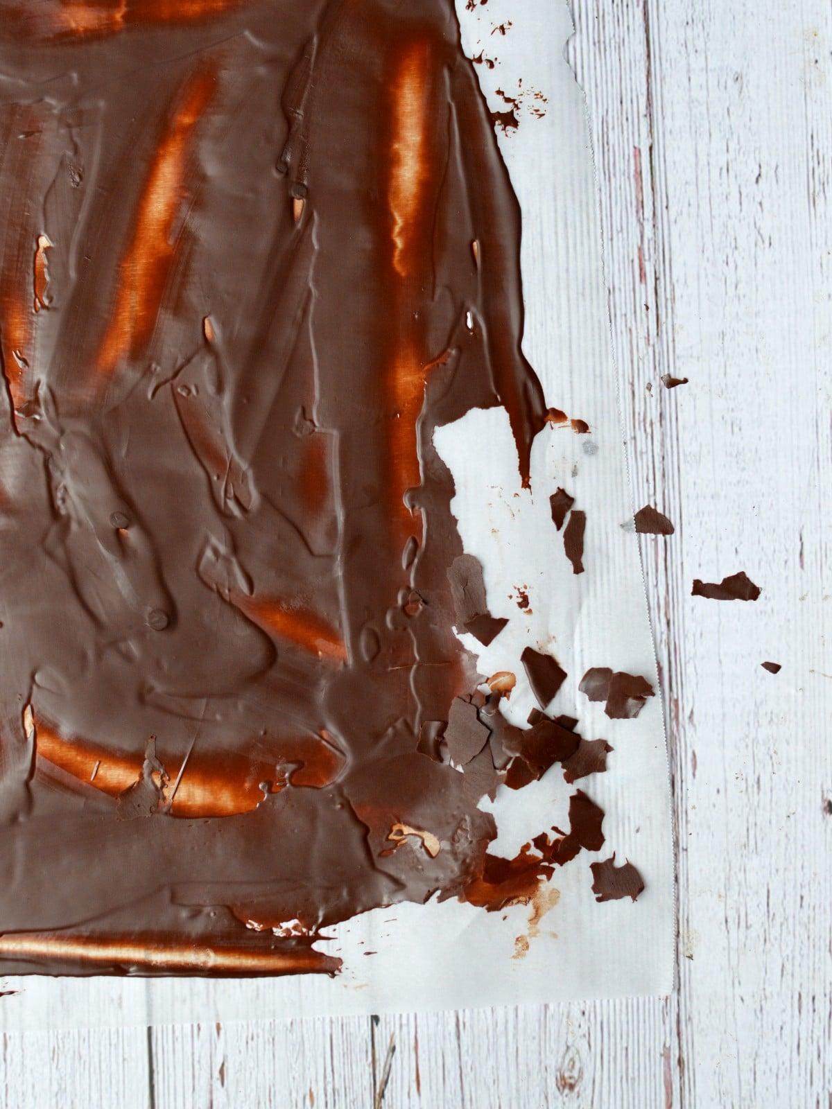chocolate flakes