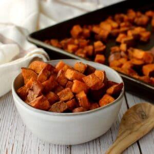 whole30 roasted sweet potatoes
